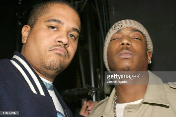 Irv Gotti and Ja Rule during Fuse and Hot 97 Present Full Frontal Hip Hop with Host Lil' Kim at Webster Hall in New York New York United States