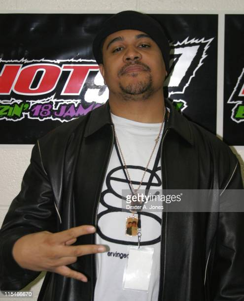 Irv Gotti during Hot 937 Jingle Jam 06 at the Hartford Civic Center December 10 2006 at The Hartford Civic Center in Hartford Conneticut United States
