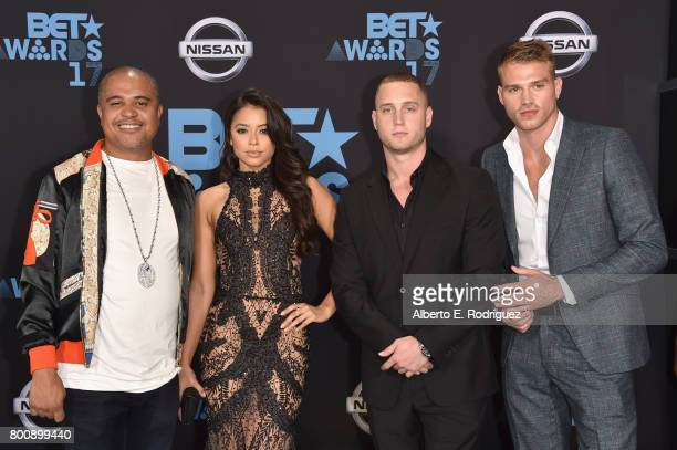 Irv Gotti Michelle Hayden Chet Hanks and Matthew Noszka at the 2017 BET Awards at Microsoft Square on June 25 2017 in Los Angeles California