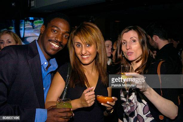 Irvin Andrew Orli Levy and Thecla Hurley attend Drambuie Den Event with Special Guest Heather Vandeven at Level V on October 22 2007 in New York