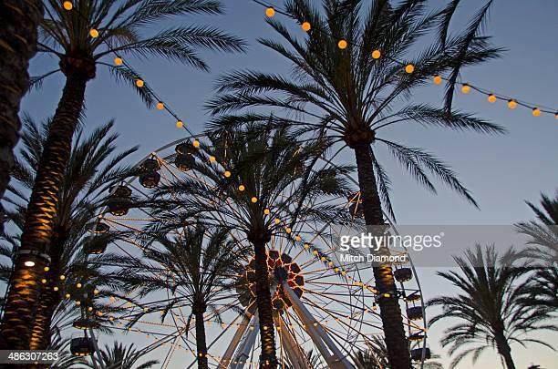 irvine spectrum ferris wheel - irvine california stock pictures, royalty-free photos & images
