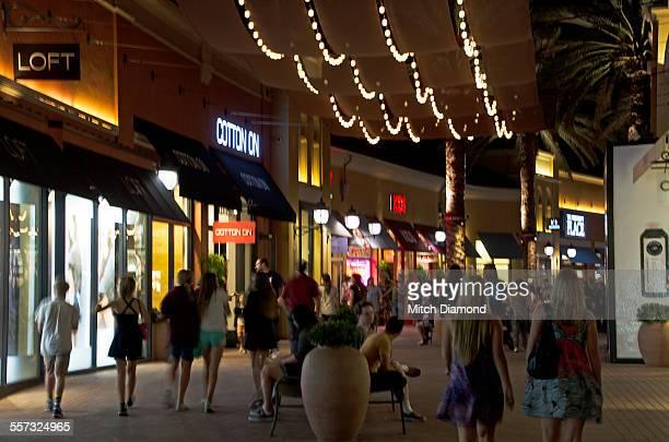 irvine spectrum shopping center - spectrum stock photos and pictures