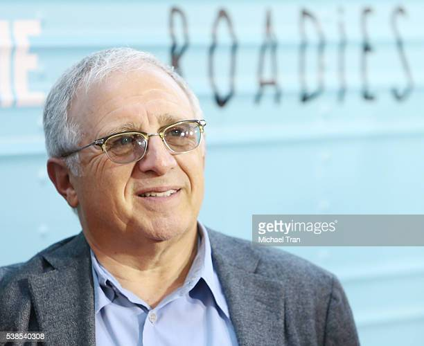 Irving Azoff arrives at the Los Angeles premiere of Showtime's 'Roadies' held at The Theatre at Ace Hotel on June 6 2016 in Los Angeles California