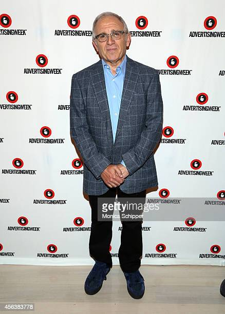 Irving Azoff attends The Curtain Rises panel during AWXI on September 29 2014 in New York City
