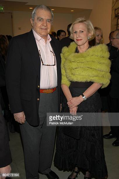 Irving Blum and Jackie Blum attend Christopher Wool Opening at GAGOSIAN GALLERY at Gagosian Gallery on March 2 2006 in Beverly Hills CA