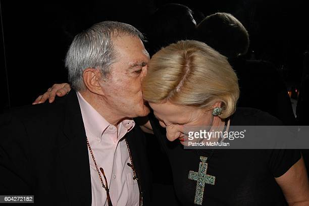 Irving Blum and Jackie Blum attend Dinner for the Christopher Wool Opening at GAGOSIAN GALLERY at Mr Chow on March 2 2006 in Beverly Hills CA