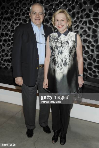 Irving Blum and Jackie Blum attend LARRY GAGOSIAN hosts the ANDREAS GURSKY Opening Exhibition at GAGOSIAN GALLERY at Gagosian Gallery on March 4 2010...