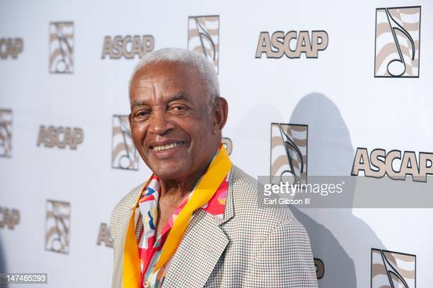 Irving Burgie attends the 25th Annual ASCAP Rhythm Soul Music Awards at The Beverly Hilton Hotel on June 29 2012 in Beverly Hills California