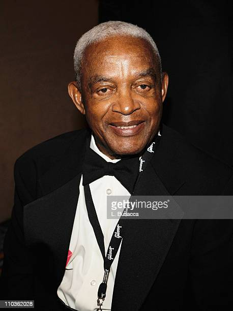 Irving Burgie attends the 39th Annual Songwriters Hall of Fame Ceremony at the Marriott Marquis on June 19 2008 in New York City