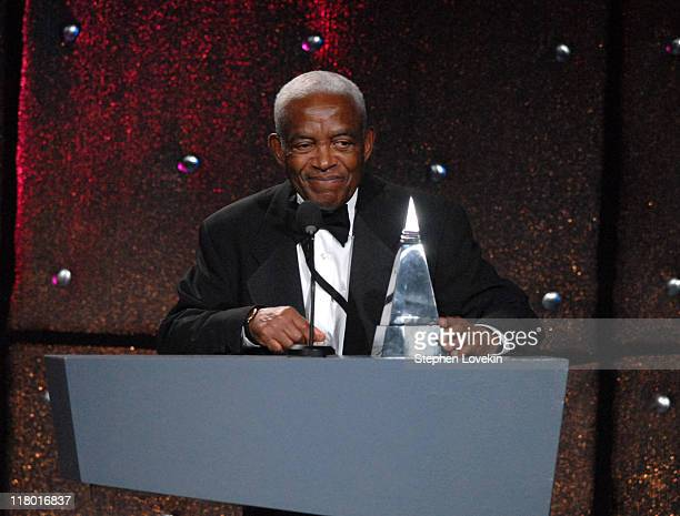 Irving Burgie honoree during 38th Annual Songwriters Hall of Fame Ceremony Show at Marriott Marquis in New York City New York United States