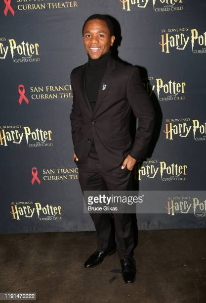 Irving Dyson Jr poses at the opening night after party for Harry Potter and The Cursed Child Parts One 2 at August Hall on December 1 2019 in San...