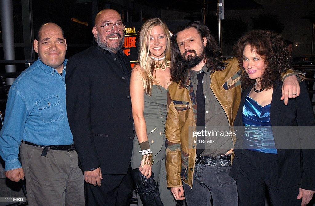 Irwin Kessler, Sid Haig, Sheri Moon, Rob Zombie and Karen Black