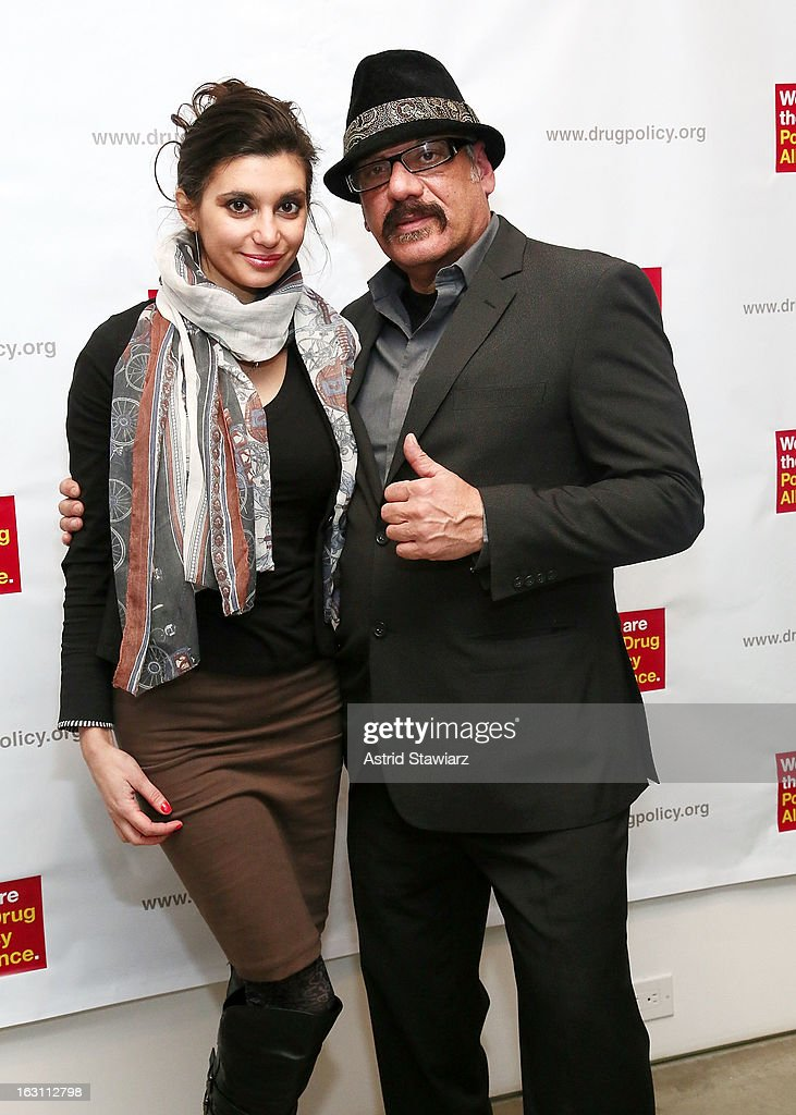 Iryna Walts and Tony Papa attend the 2013 re:FORM Art Benefit at C24 Gallery on March 4, 2013 in New York City.