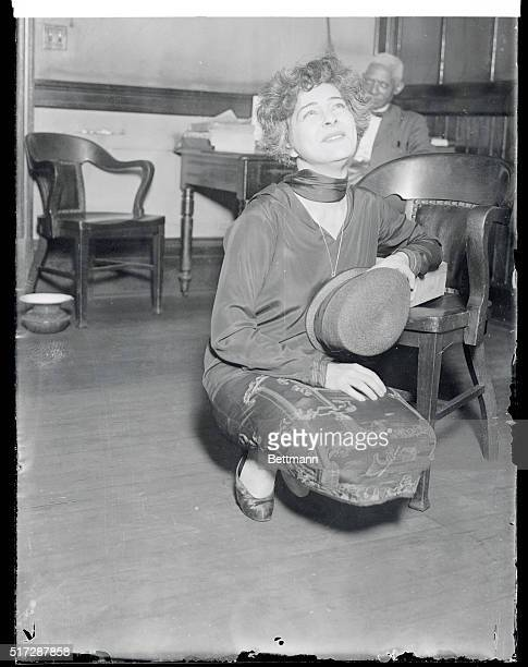 Is Alla Nazimova Crying Here New York New York A few tears caused by an allusion to her 'gray hairs' in a newspaper story passed swiftly and Alla...