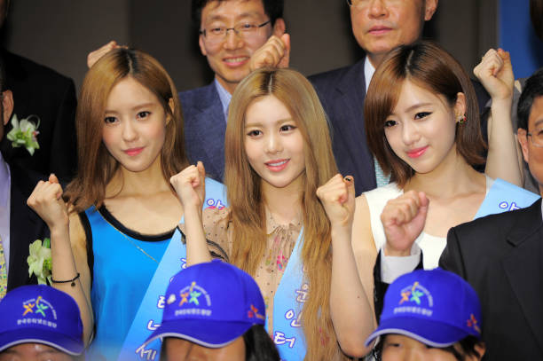KOR: T-ARA Appointed As Honorary Ambassador For SNS