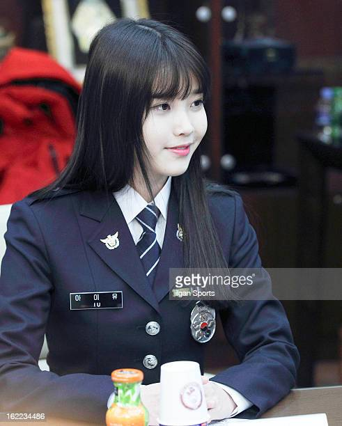 Is appointed as honorary ambassadors for The National Police Agency on February 15, 2013 in Seoul, South Korea.