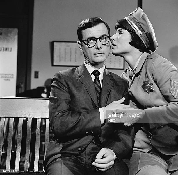 NICE 'Is Big Town Burning' Episode 6 Aired 2/27/67 Pictured William Daniels as Carter Nash/Capt Nice Ann Prentiss as Sgt Candy Kane Photo by NBCU...