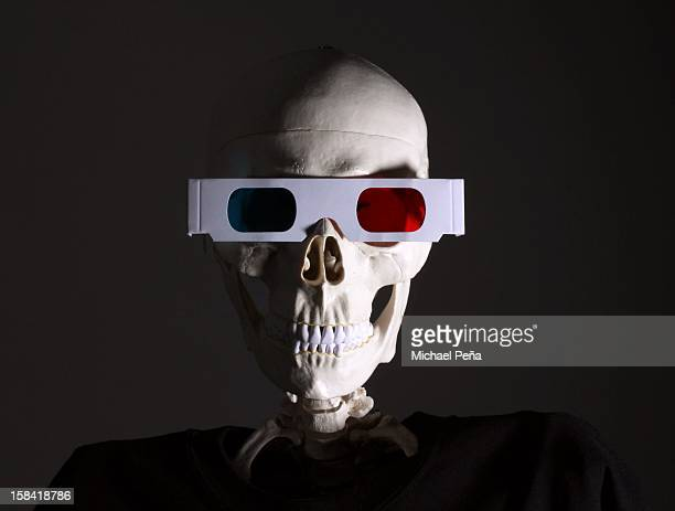3d is dead - funny skeleton stock photos and pictures