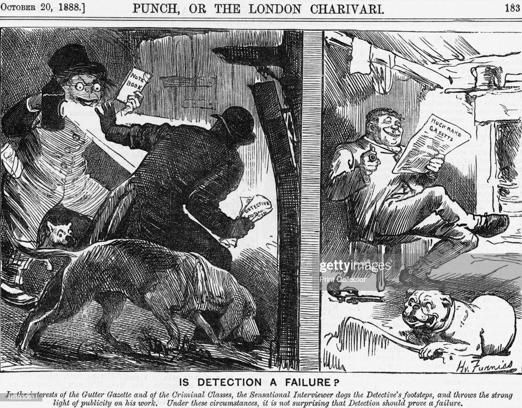 'Is Detection a Failure?', 1888. Artist: Joseph Swain : News Photo