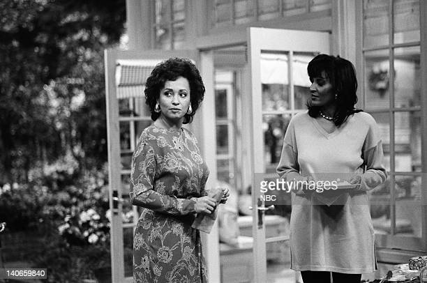 AIR THE 'M is for the Many things She Gave Me' Episode 22 Pictured Daphne Reid as Vivian Banks Pam Grier as Janice Photo by Joseph Del Valle/NBCU...