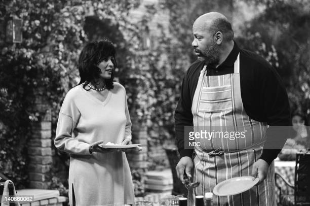 AIR THE 'M is for the Many things She Gave Me' Episode 22 Pictured Pam Grier as Janice James Avery as Philip Banks Photo by Joseph Del Valle/NBCU...
