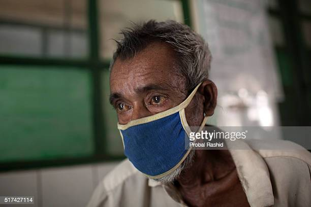 is from Sylhet district he has been suffering from TB for the last six months he is being treated at the National Institute of Diseases of the Chest...