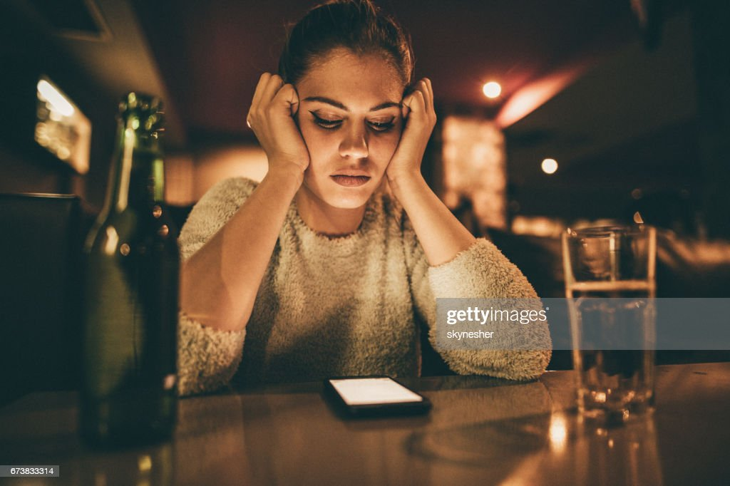 Is he going to call me? : Stock Photo