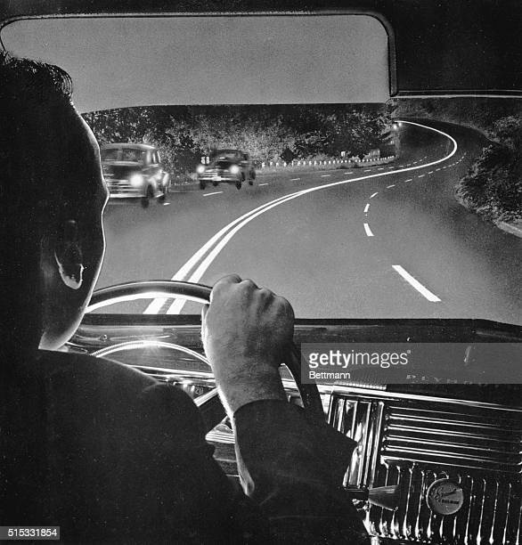 Is it possible to hypnotize yourself into an accident by watching the white center line of a highway too closely Miss Carol Lane Shell Oil Company...