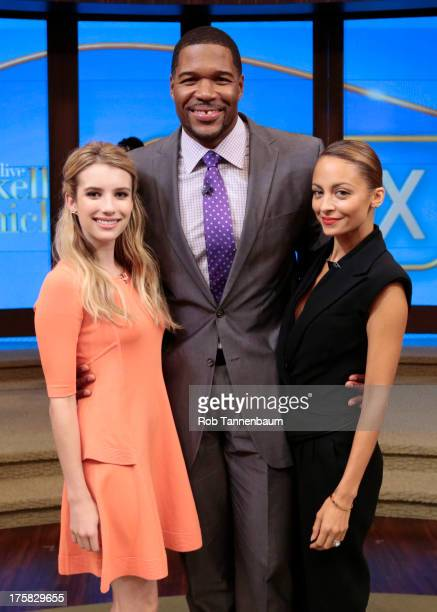 RICHIE is Michaels cohost this morning and Emma Roberts is a guest on LIVE with Kelly and Michael distributed by DisneyWalt Disney Television via...