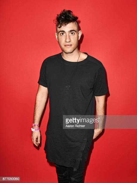 3LAU is photographed for Billboard Magazine on August 19 2017 at the Billboard Hot 100 Music Festival at Northwell Heath at Jones Beach Theater in...