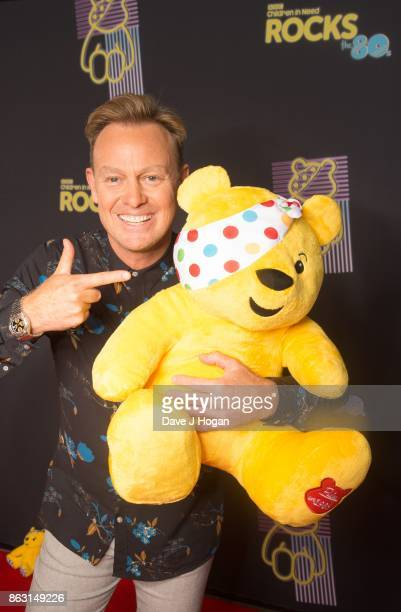 Is pictured at BBC Children in Need Rocks the 80s at SSE Arena on October 19, 2017 in London, England.