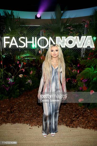 is seen as Fashion Nova Presents Party With Cardi at Hollywood Palladium on May 8 2019 in Los Angeles California
