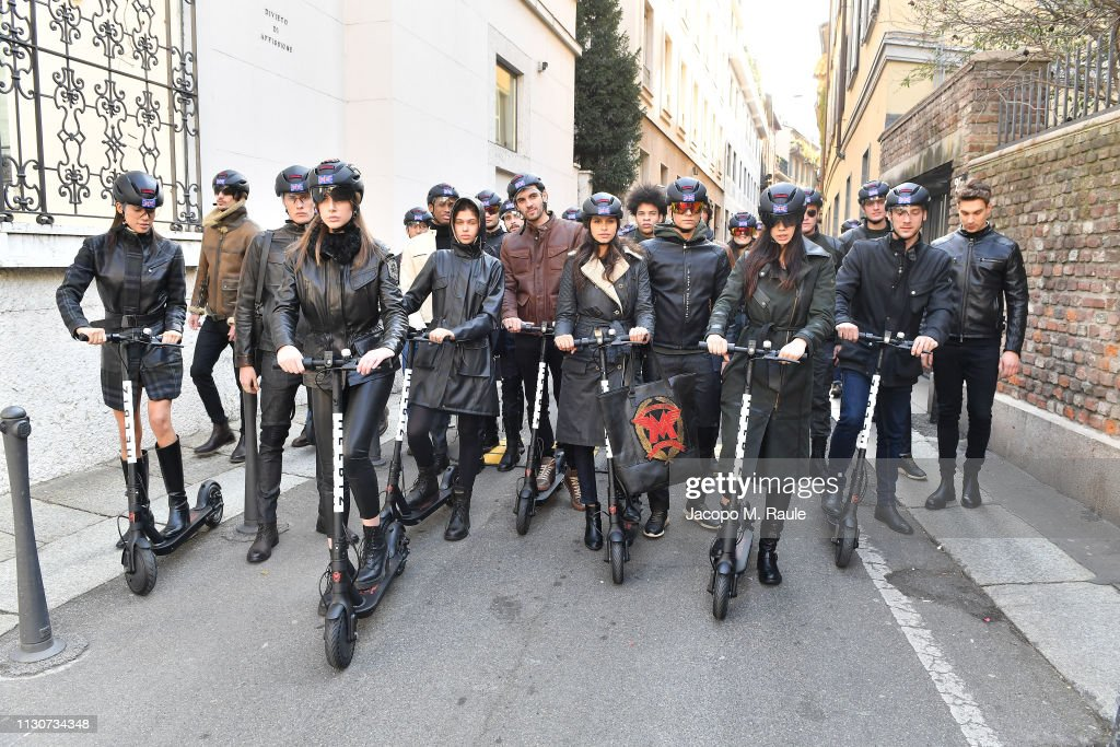 ITA: Matchless 120 years smart mobility fashion show during Milan Fashion week