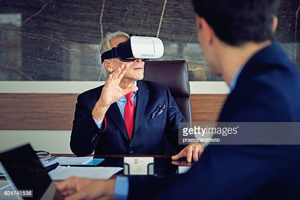 CEO is testing new virtual reality product
