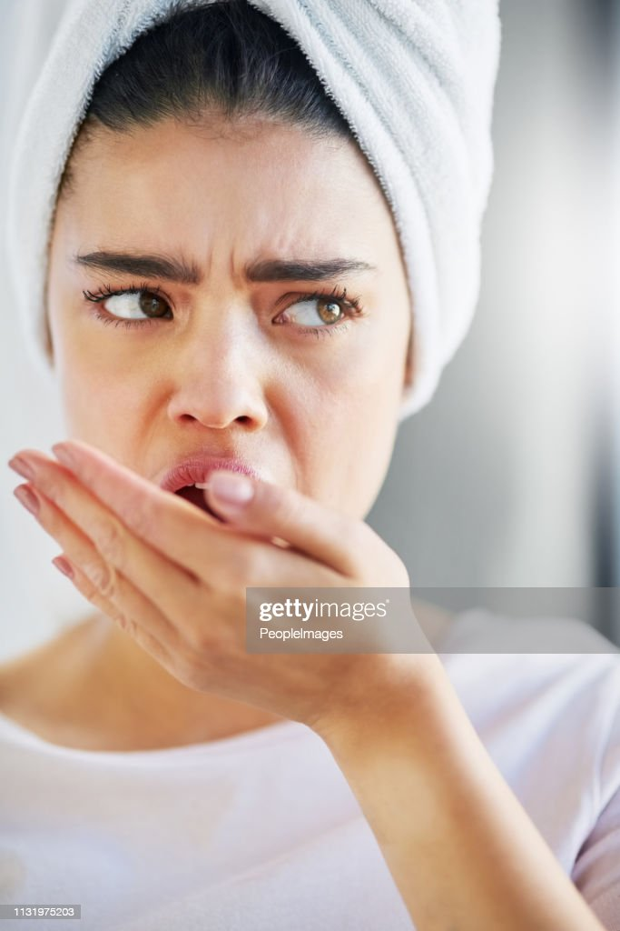 Is that smell coming from me? : Stock Photo
