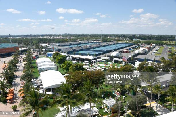 2019 is the first year that the Miami Open Tennis tournament was held at the Hard Rock Stadium which is also the home of the Miami Dolphins of the...