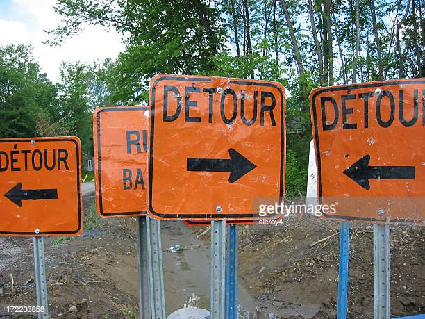 is there a detour?