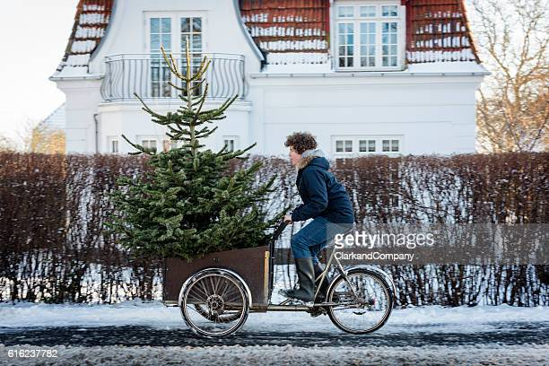 is this christmas tree big enough? - denmark stock pictures, royalty-free photos & images