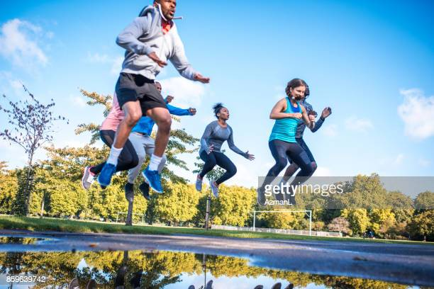 is this your maximum? - circuit training stock photos and pictures