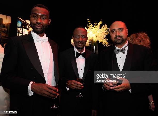 Isa Bayero Governor of the Central Bank of Nigeria Lamido Sanusi and Deputy International Editor of TIME Bobby Ghosh attend the TIME 100 Gala TIME'S...