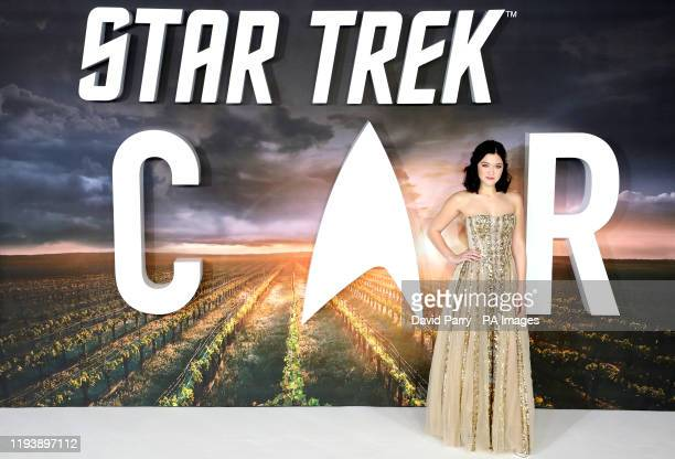 Isa Briones attending the Star Trek: Picard Premiere held at the Odeon Luxe Leicester Square, London.