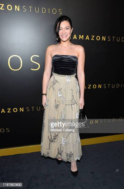 Isa Briones attends the Amazon Studios Golden Globes after party at The Beverly Hilton Hotel on January 05 2020 in Beverly Hills California