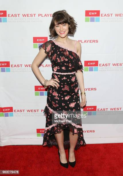 Isa Briones attends the East West Players The Company We Keep 52nd Anniversary Visionary Awards Fundraiser Dinner and Silent Auction held at Hilton...
