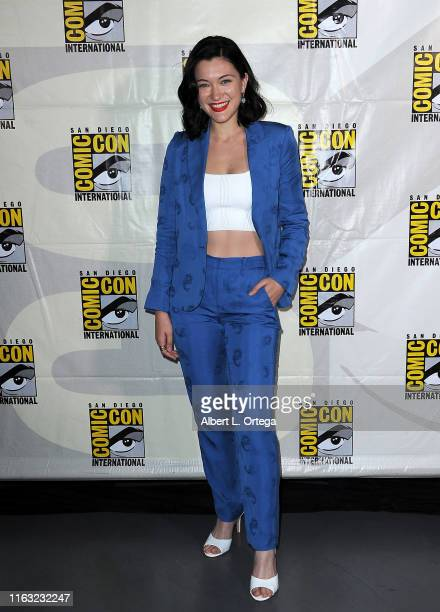 Isa Briones attends the Enter The Star Trek Universe Panel during 2019 ComicCon International at San Diego Convention Center on July 20 2019 in San...