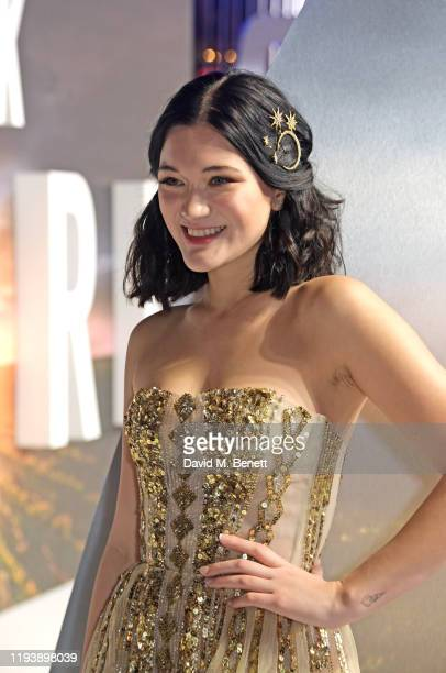 """Isa Briones attends the European Premiere of Amazon Original """"Star Trek: Picard"""" at Odeon Luxe Leicester Square on January 15, 2020 in London,..."""