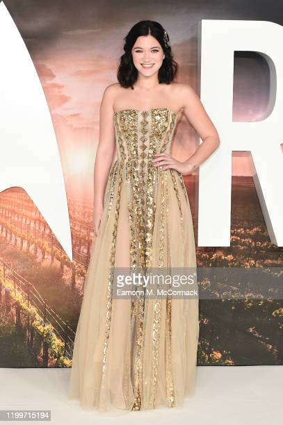 Isa Briones attends the Star Trek Picard UK Premiere at Odeon Luxe Leicester Square on January 15 2020 in London England