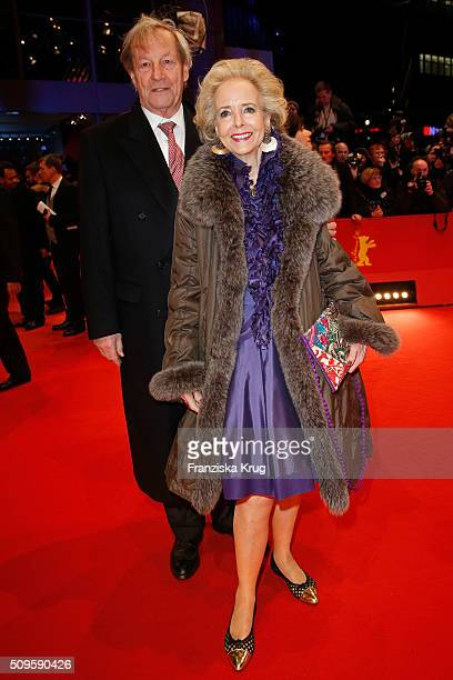 Isa Graefin von Hardenberg and husband Andreas Graf von Hardenberg the 'Hail Caesar' premiere during the 66th Berlinale International Film Festival...