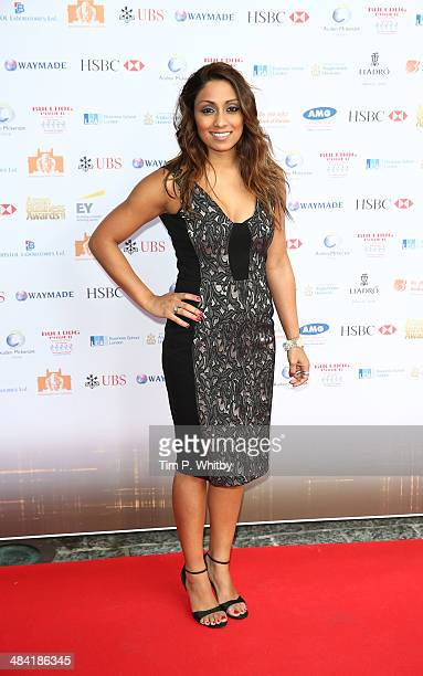 Isa Guha attends the Asian Rich List 2014 at Westminster Bridge Park Plaza Hotel on April 11 2014 in London England