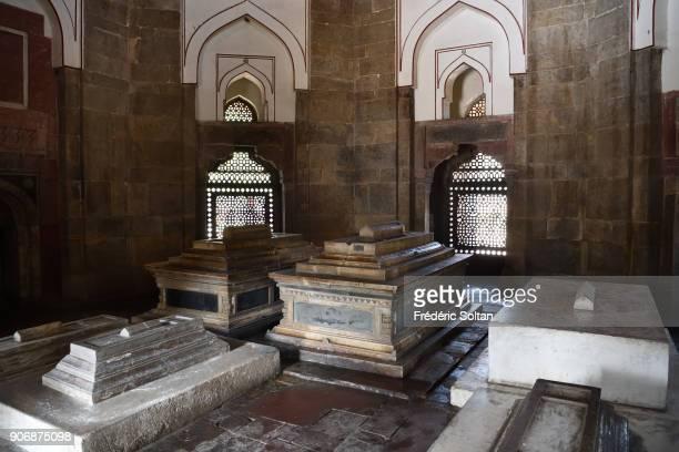 Isa Khan Niazi tomb at Humayun tomb complex in New Delhi on January 8 2018 in Delhi India