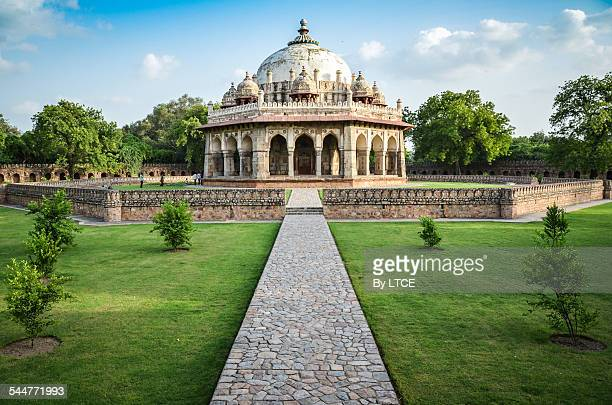 Isa Khan tomb in the Humayun complex, New Delhi